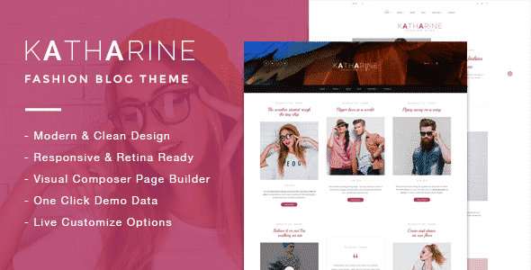 Tema Katharine - Template WordPress