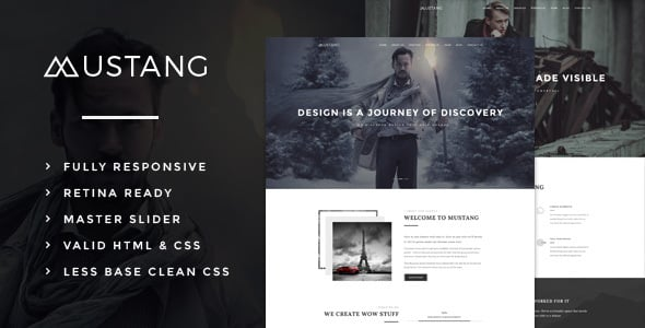 Tema Mustang - Template WordPress