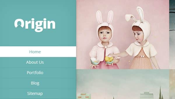Tema Origin ElegantThemes - Template WordPress
