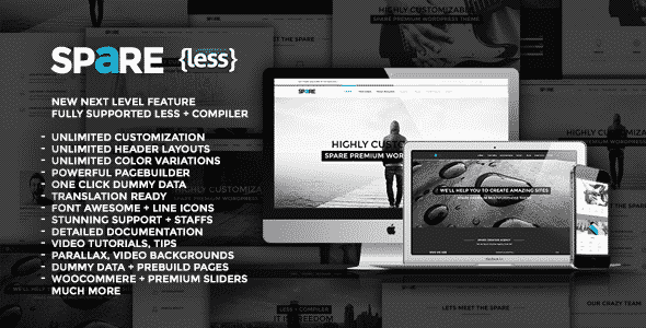 Tema Spare - Template WordPress
