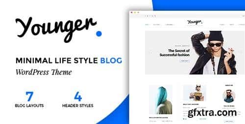 Tema Younger Blogger - Template WordPress