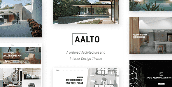 Tema Aalto - Template WordPress