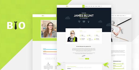 Tema Bio - Template WordPress