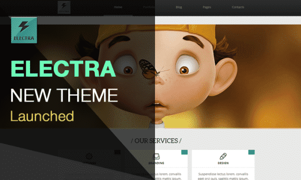Tema Electra - Template WordPRess