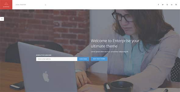Tema Enterprise TeslaThemes - Template WordPress