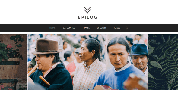 Tema Epilog - Template WordPress