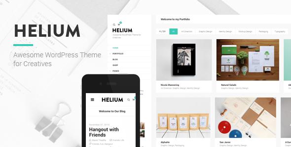 Tema Helium - Template WordPress