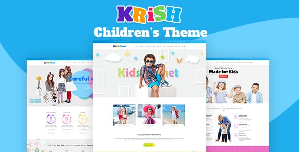 Tema Krish - Template WordPress