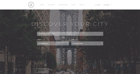 Tema Locales - Template WordPress