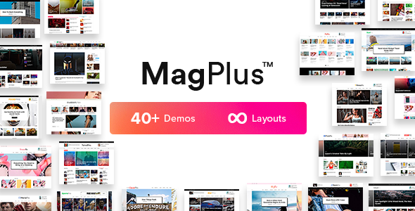 Tema MagPlus - Template WordPress