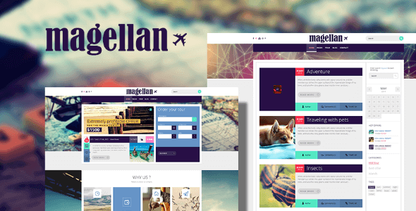 Tema Magellan - Template WordPress