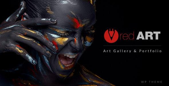 Tema RedArt - Template WordPress