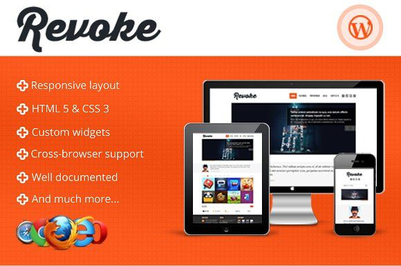 Tema Revoke - Template WordPress