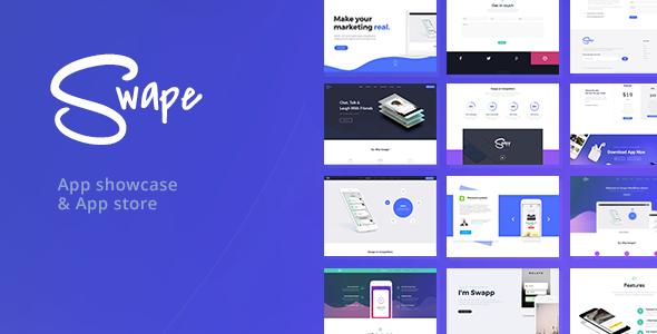 Tema Swape - Template WordPress