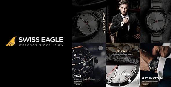 Tema Swiss Eagle - Template WordPress