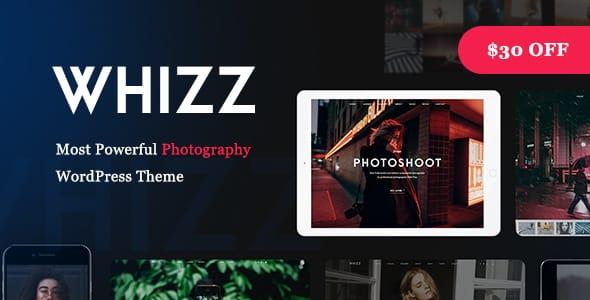 Tema Whizz - Template WordPress