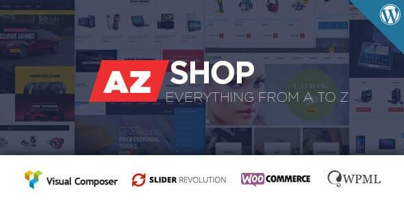 Tema AZShop - Template WordPress