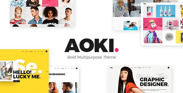 Tema Aoki - Template WordPress