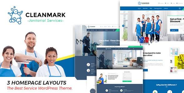 Tema CleanMark - Template WordPress