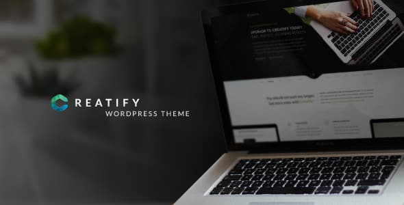 Tema Creatify - Template WordPress
