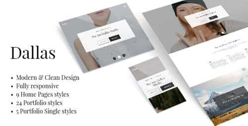 Tema Dallas - Template WordPress