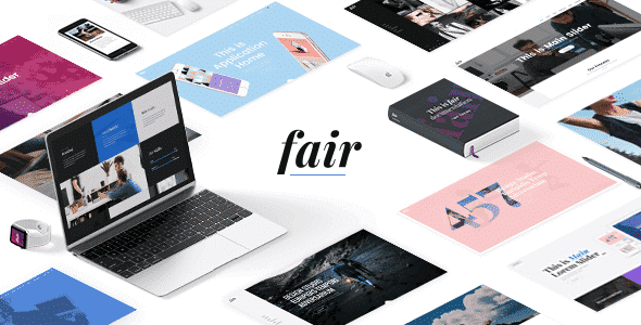 Tema Fair - Template WordPress