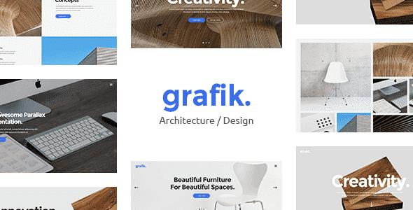 Tema Grafik - Template WordPress