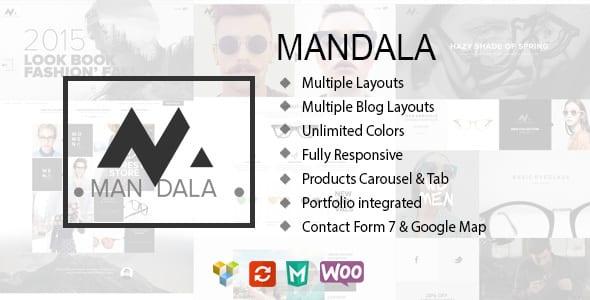 Tema Mandala RoadThemes - Template WordPress