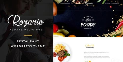 Tema Rozario - Template WordPress