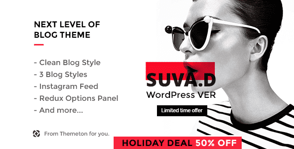 Tema Suvad - Template WordPress