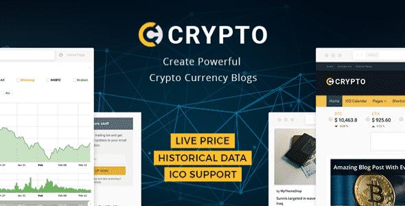 Tema Crypto - Template WordPress