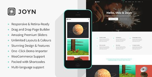 Tema Joyn - Template WordPress