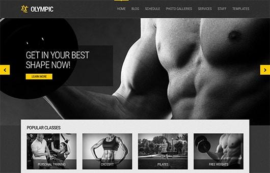 Tema Olympic - Template WordPress