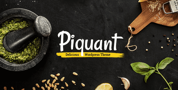 Tema Piquant - Template WordPress