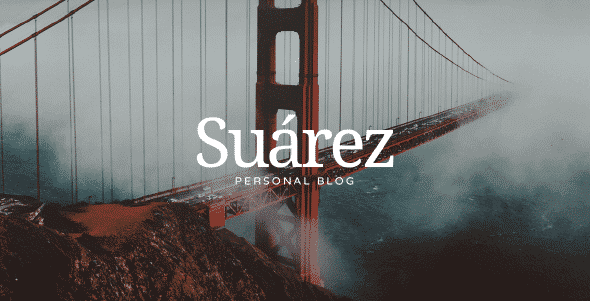 Tema Suarez - Template WordPress