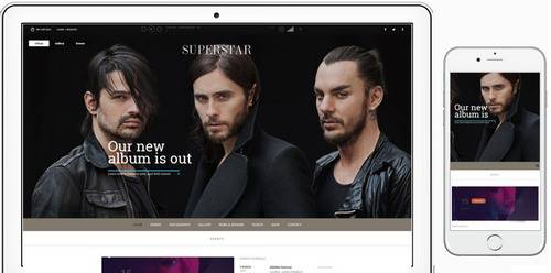 Tema Superstar - Template WordPress