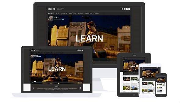 Tema Vidiho - Template WordPress