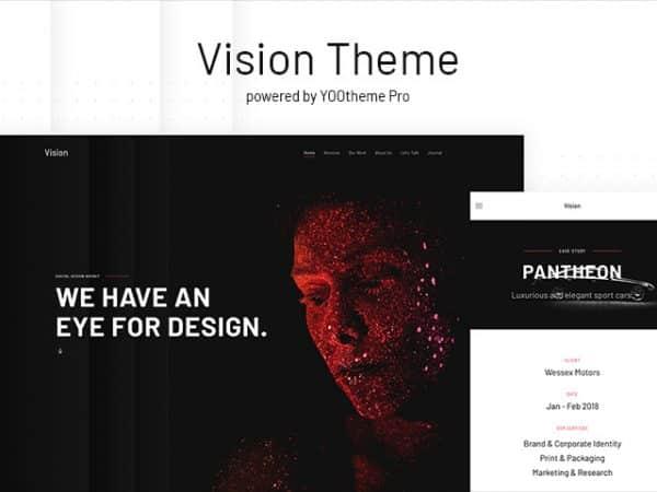 Tema Vision - Template WordPress