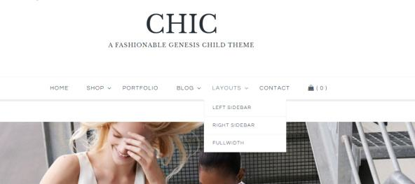 Tema Chic - Template WordPress