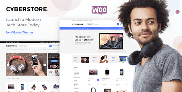 Tema CyberStore - Template WordPress