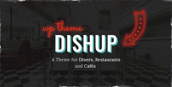 Tema DishUp - Template WordPress