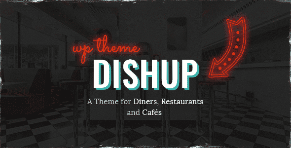 Tema DishUp - Template WordPress