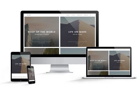 Tema Dune - Template WordPress