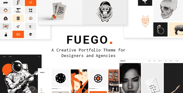 Tema Fuego - Template WordPress