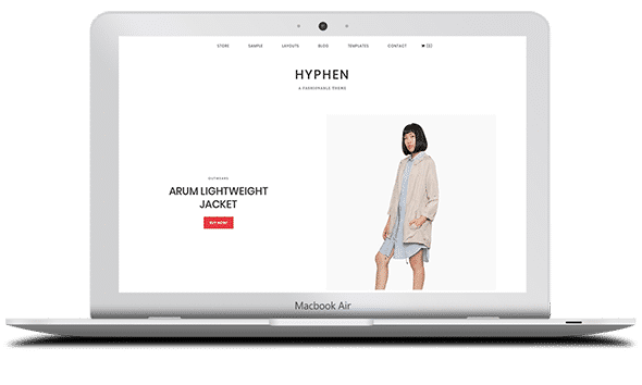 Tema Hyphen - Template WordPress