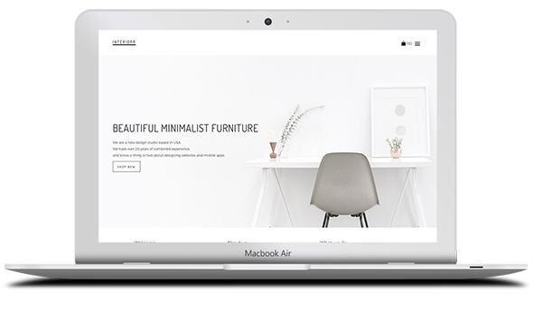 Tema Interiorr - Template Wordpress