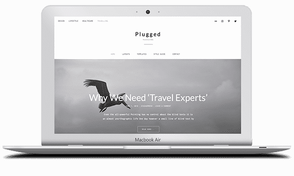Tema Plugged - Template WordPress