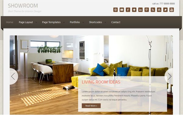 Tema ShowRoom ZigZagPress - Template WordPress