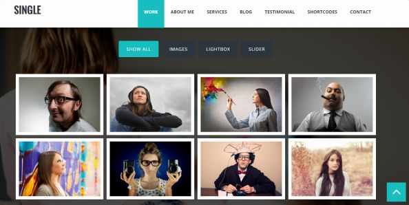 Tema Single - Template WordPress