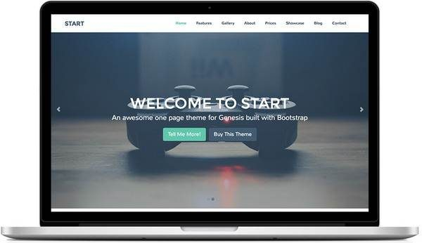 Tema Start - Template WordPress